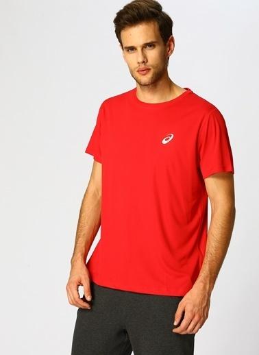 Asics Tişört Kırmızı